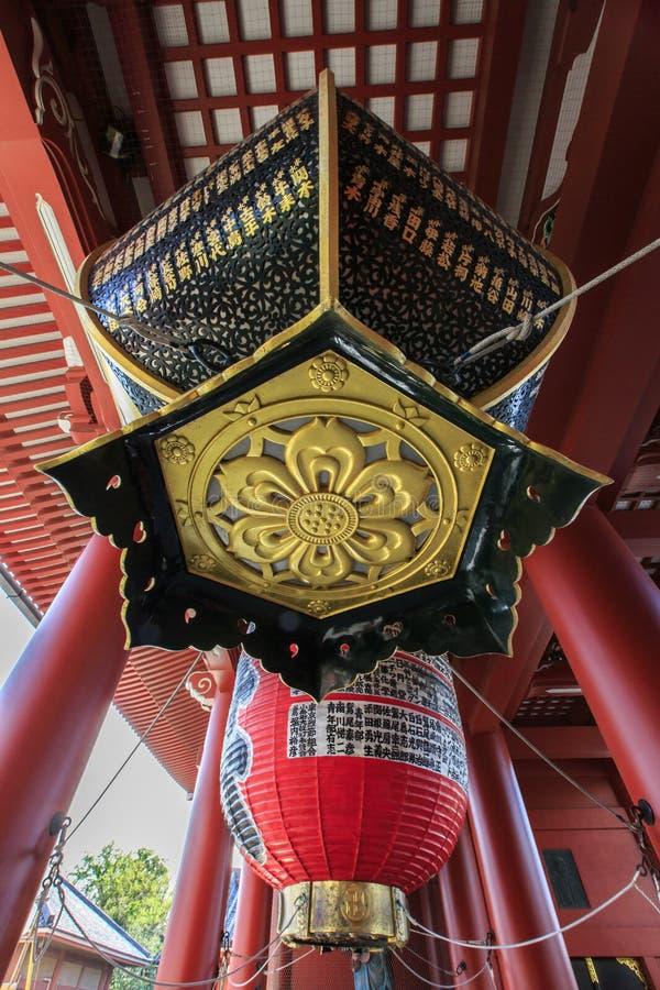 Tempel Senso-ji in Asakusa, Tokyo, Japan lizenzfreie stockfotografie
