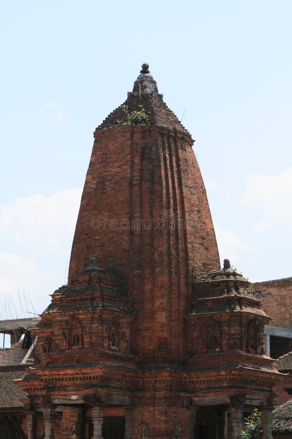 Tempel-Stadt Bhaktapur stockbild
