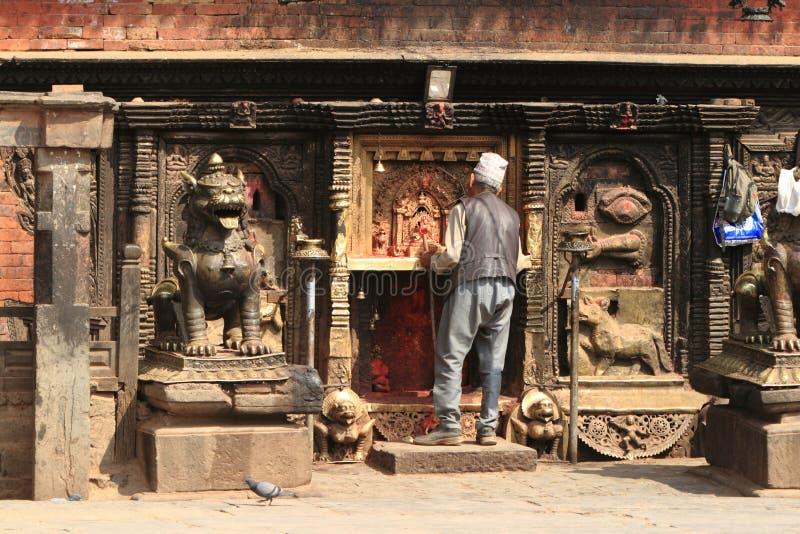 Tempel-Stadt Bhaktapur lizenzfreies stockfoto