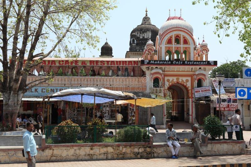 Tempel-Stadt von Khajuraho in Indien lizenzfreie stockfotos