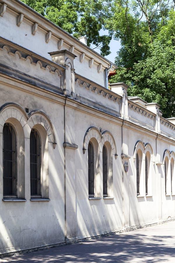 Tempel-Synagoge im jüdischen Bezirk von Krakau, Polan lizenzfreie stockbilder