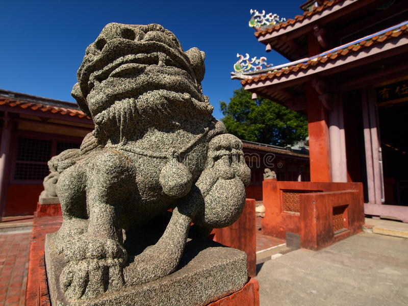 Tempel Tainan-Konfuzius lizenzfreies stockbild