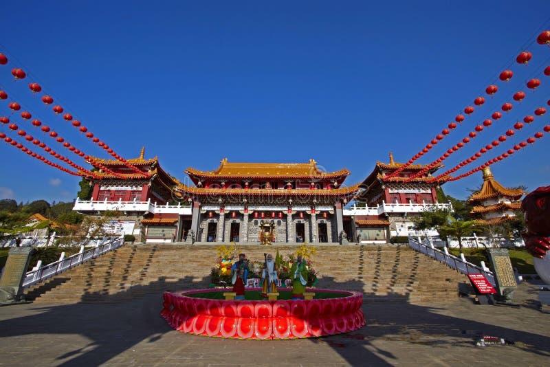 Tempel Taiwans Wenwu stockfoto