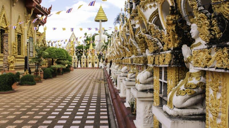 Tempel Thai stock foto