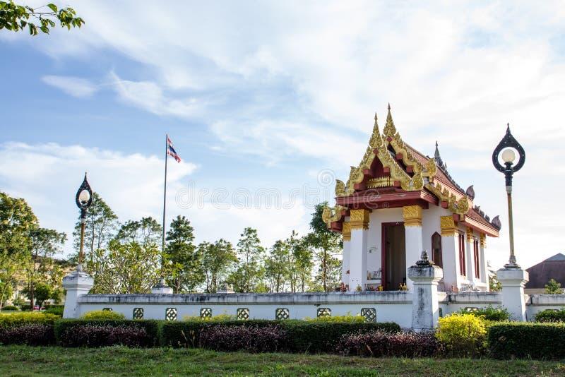 Tempel Thailand stockbild