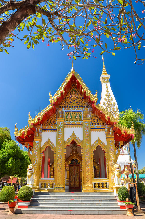 Tempel in Thailand royalty-vrije stock afbeelding
