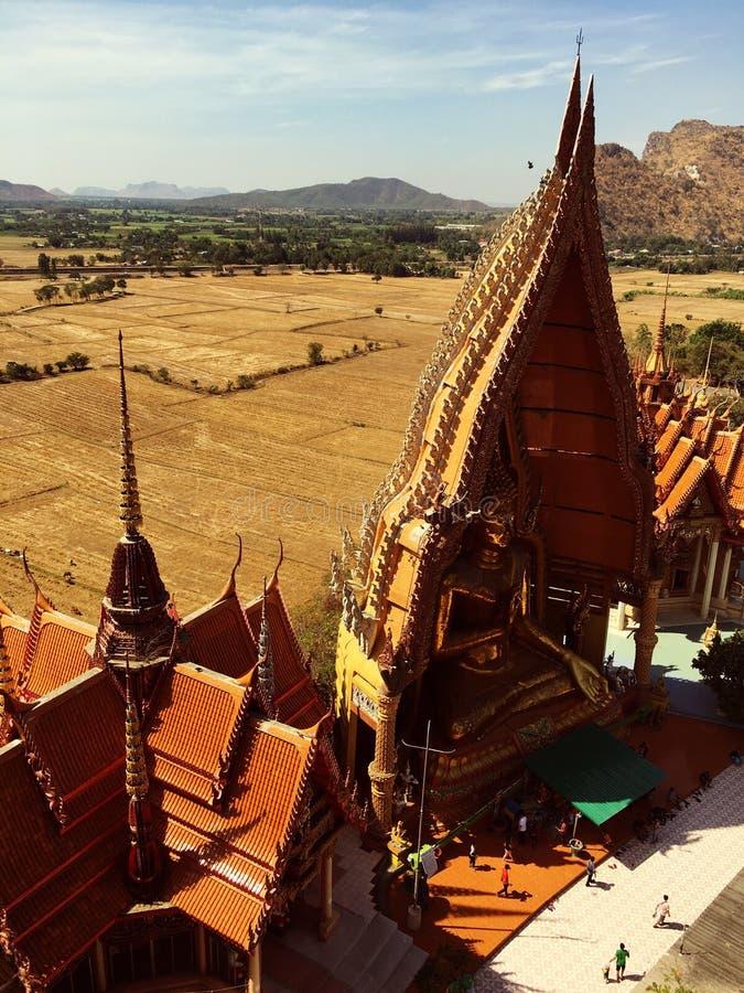 Tempel in Thailand stockbild