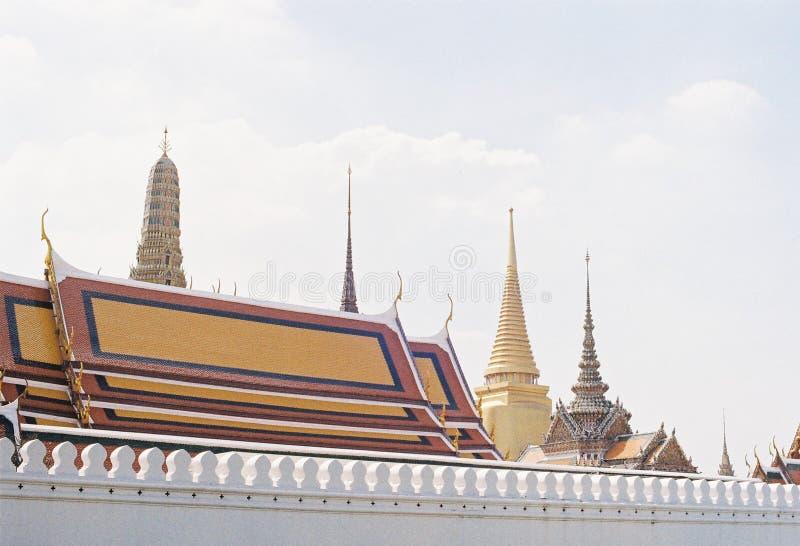Tempel in Thailand stockfotos