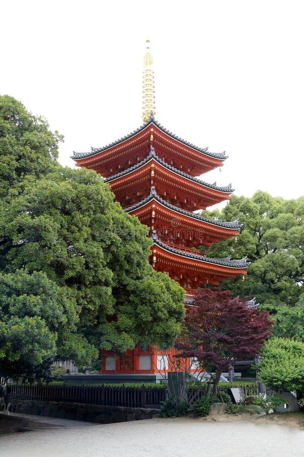 Tempel Tocho -tocho-ji stock foto's