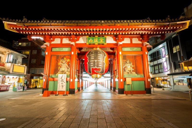 Tempel Tokyos Sensoji lizenzfreie stockbilder