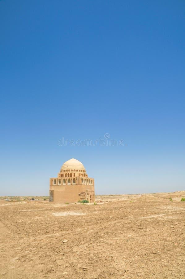 Tempel in Turkmenistan lizenzfreies stockfoto