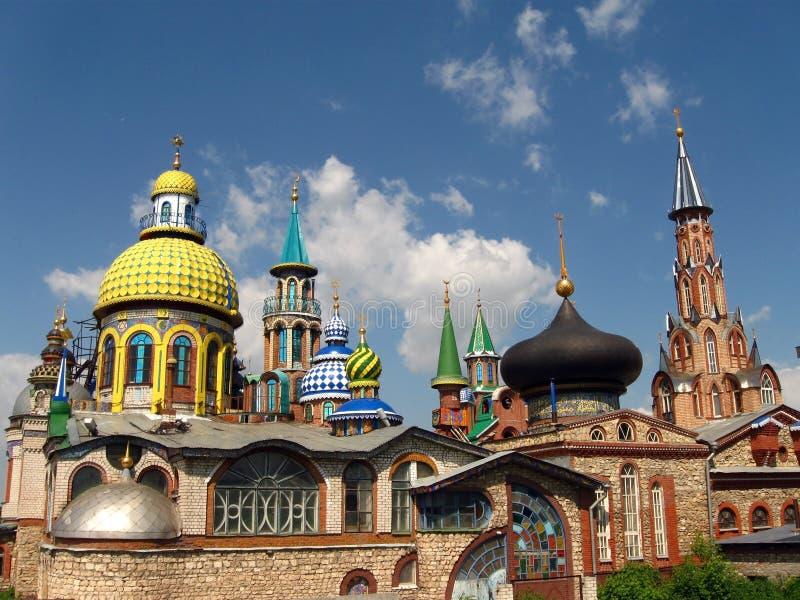 Tempel van alle godsdiensten. stock foto