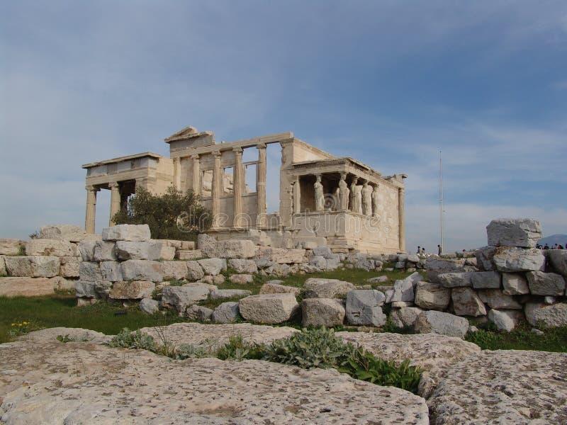 Tempel van Athena Nike 1 royalty-vrije stock foto's