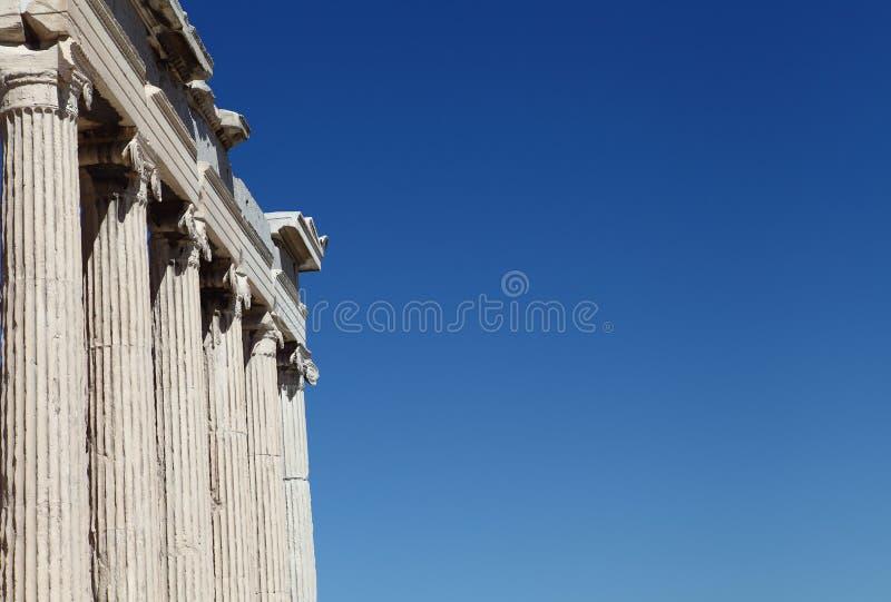 Tempel van Athena Nike royalty-vrije stock fotografie