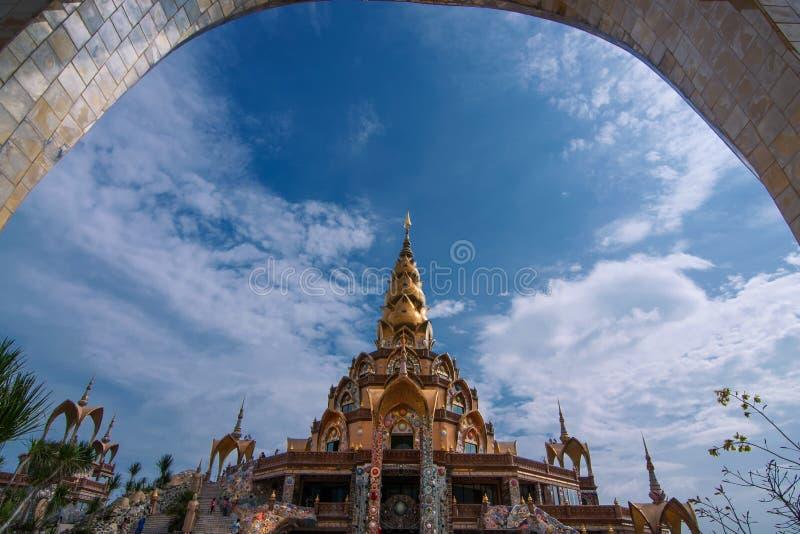 Tempel van centrum royalty-vrije stock afbeelding