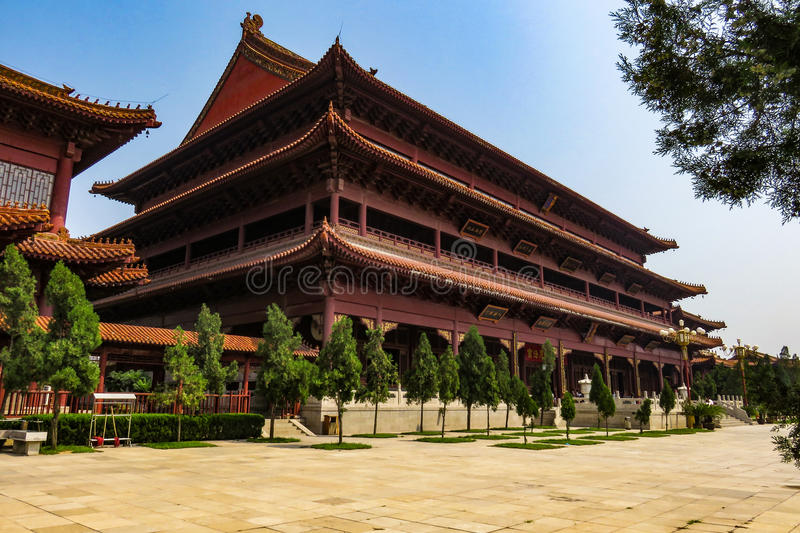 Tempel van China royalty-vrije stock fotografie
