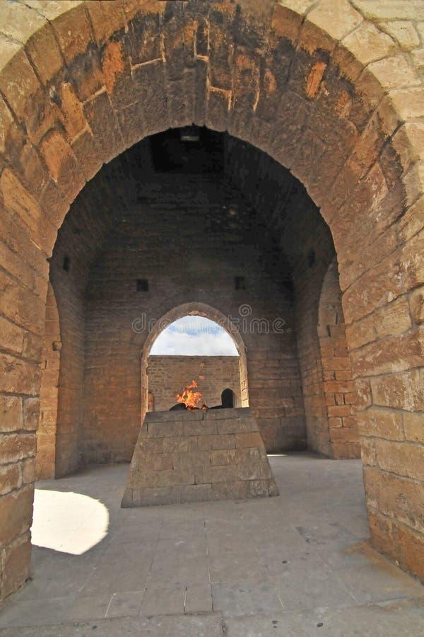 Tempel van de Ateshgah de 'Brand stock foto's