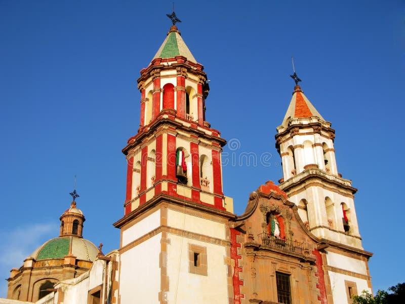 Tempel van de Congregatie in Queretaro, Mexico. stock afbeeldingen