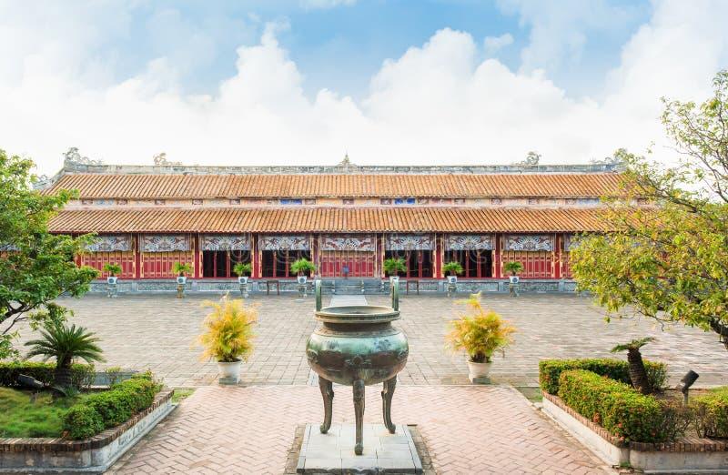 Tempel van de Generaties in Citadel van Tint - Keizerstad royalty-vrije stock afbeelding
