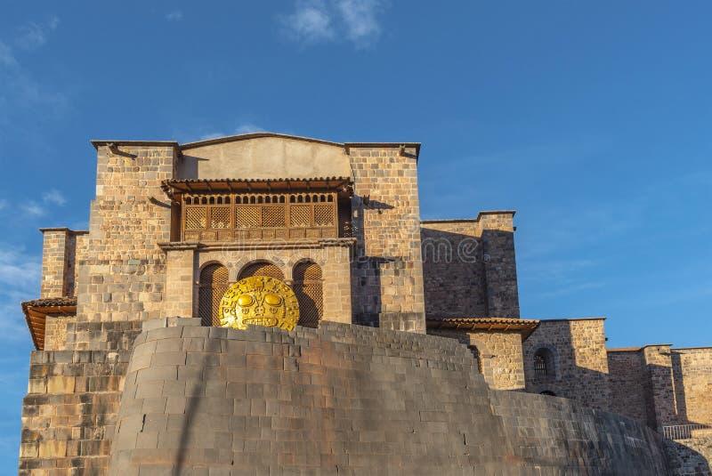 Tempel van de Zon, Cusco stock afbeelding