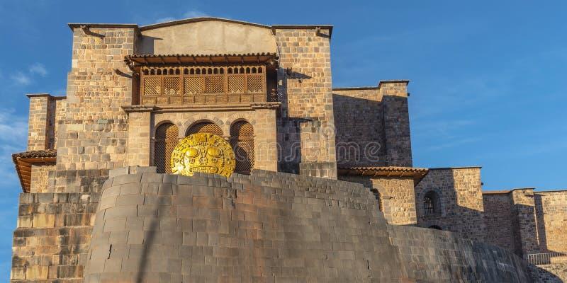Tempel van de Zon, Cusco, Peru stock afbeeldingen