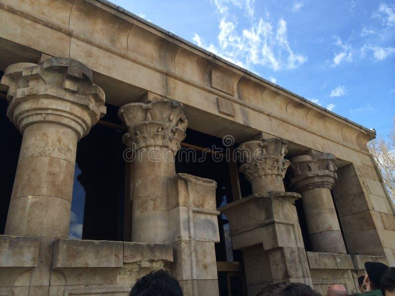 Tempel van Debod royalty-vrije stock afbeeldingen