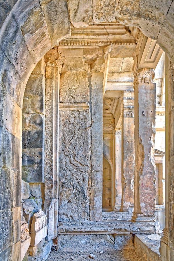 Tempel van Diane, Nîmes, Frankrijk royalty-vrije stock fotografie