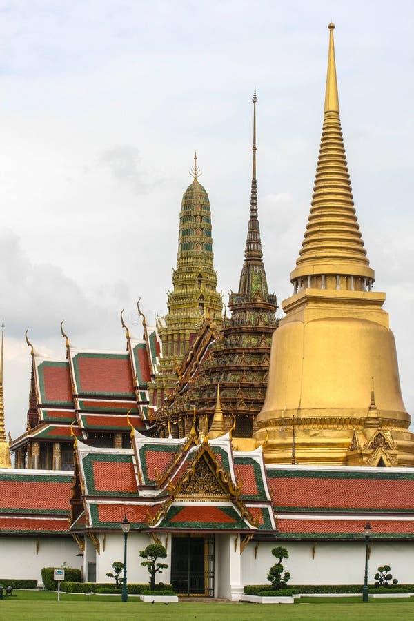 Tempel van Emerald Buddha Bangkok, Thailand royalty-vrije stock afbeelding
