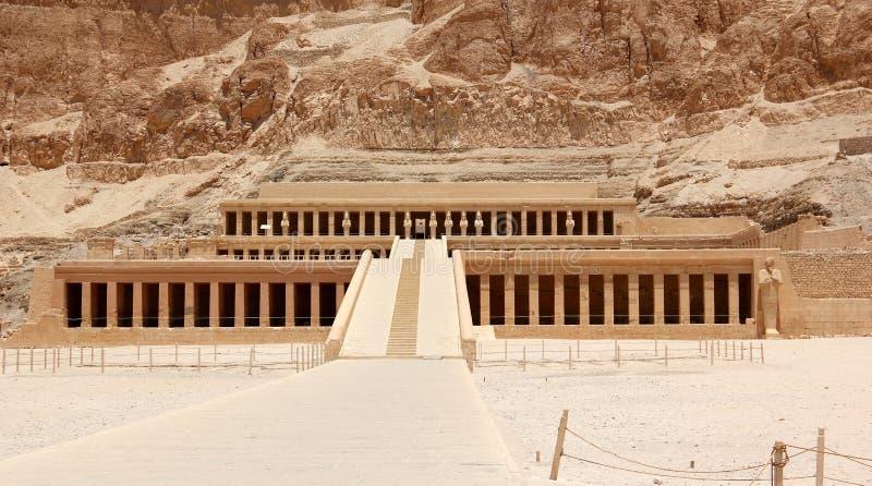 Tempel van Hatshepsut. royalty-vrije stock foto