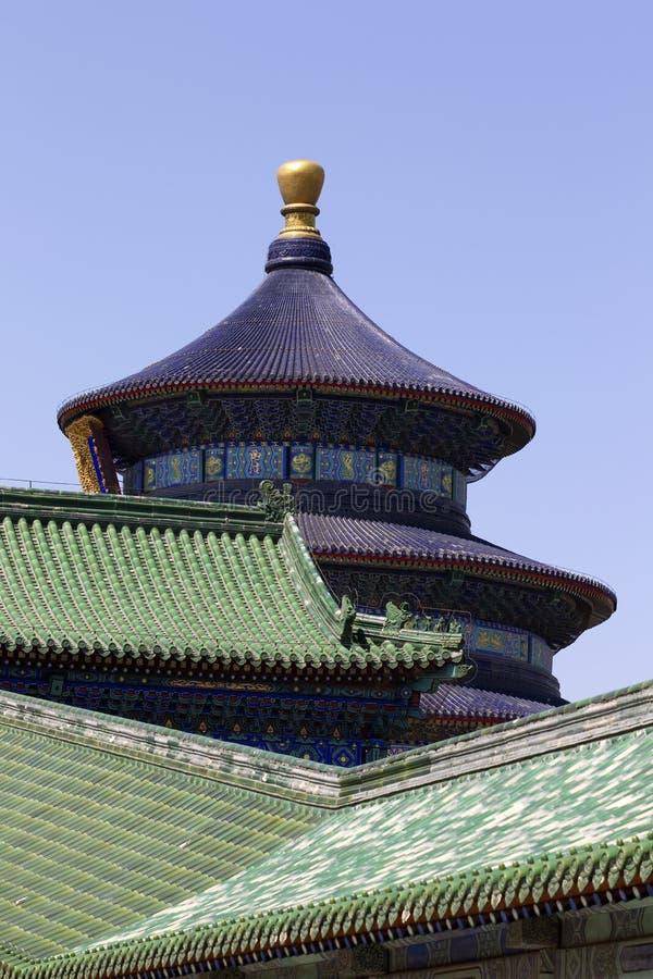 Tempel Van Hemel Stock Foto