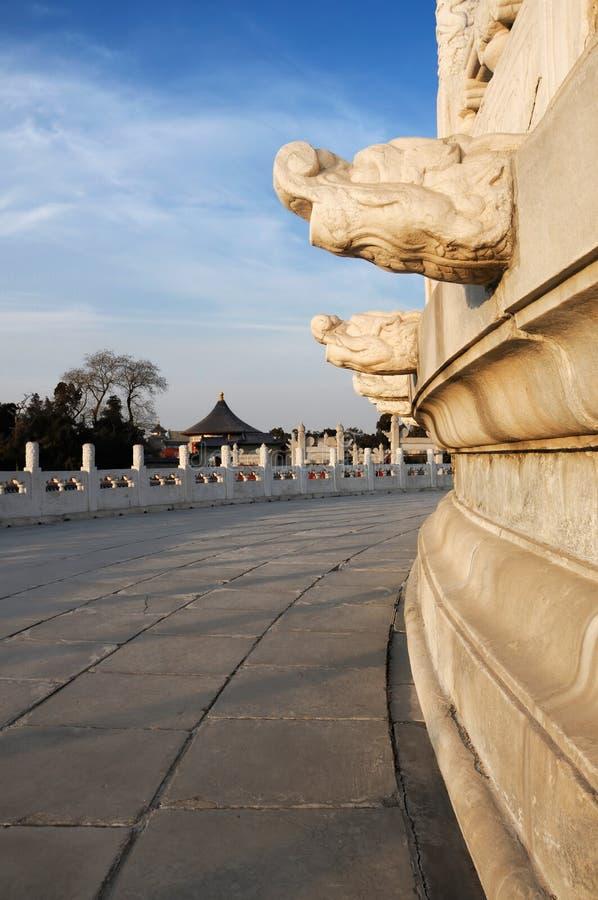 Tempel van Hemel royalty-vrije stock foto's