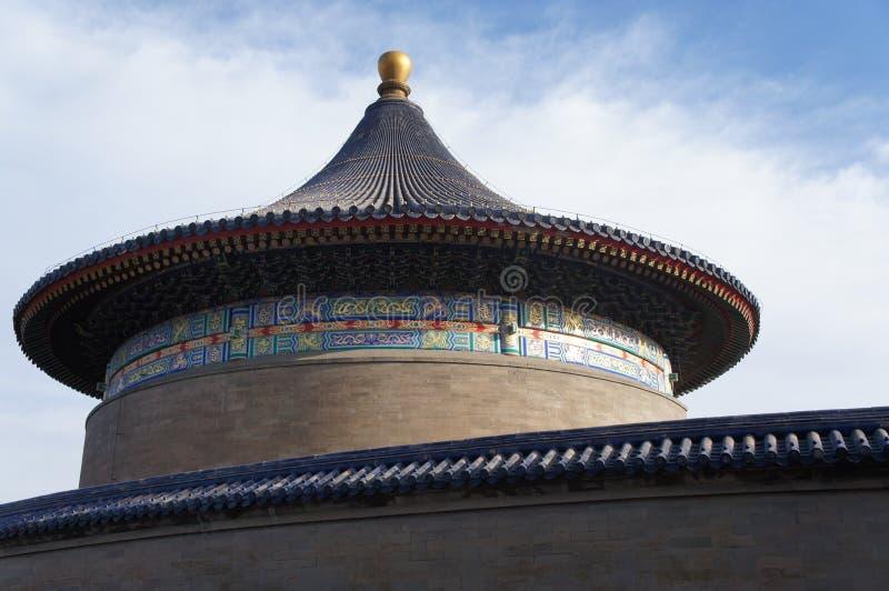 Tempel van Hemel Peking royalty-vrije stock afbeelding
