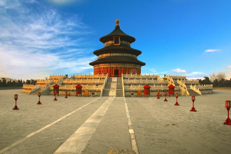 Tempel van Hemel in Peking, China stock afbeeldingen