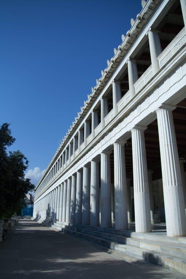 Tempel van Hephaestus stock afbeeldingen