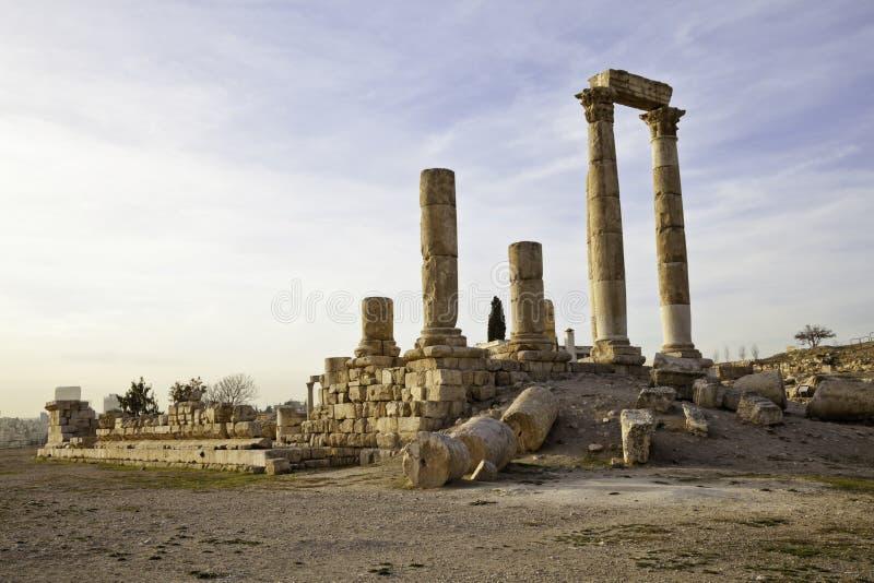 Tempel van hercules stock afbeeldingen