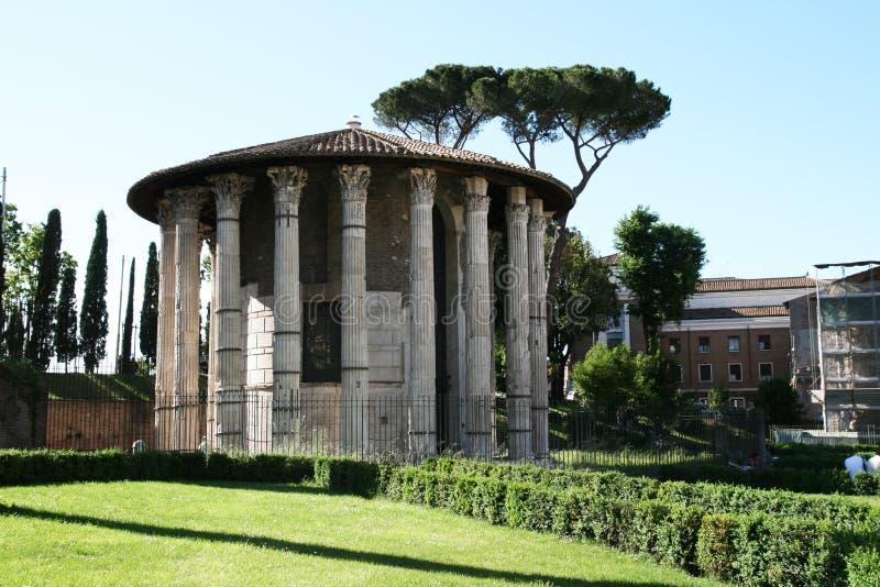 Tempel van hercules stock foto's