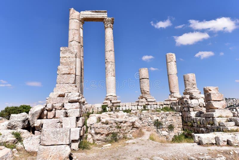 Tempel van Hercules stock foto