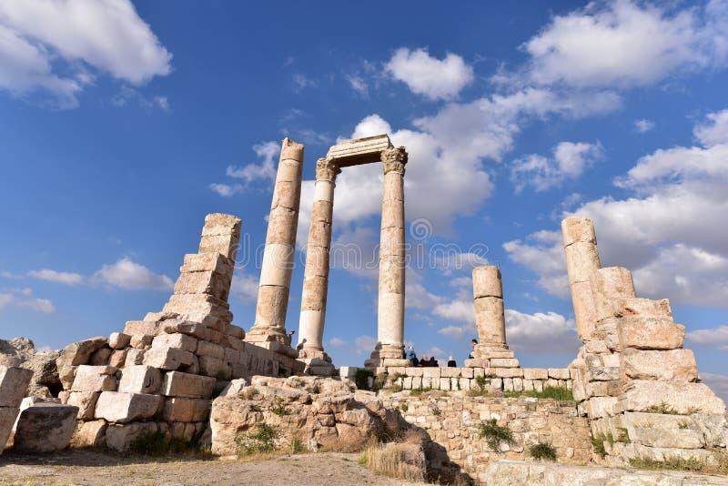 Tempel van Hercules royalty-vrije stock afbeeldingen
