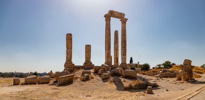 Tempel van Hercules I royalty-vrije stock afbeeldingen