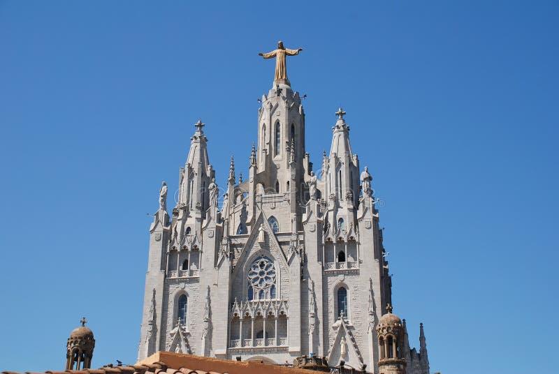 Tempel van het Heilige Hart van Jesus, Barcelona royalty-vrije stock fotografie