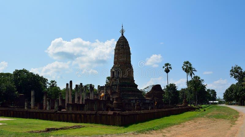 Tempel van historisch park royalty-vrije stock afbeeldingen