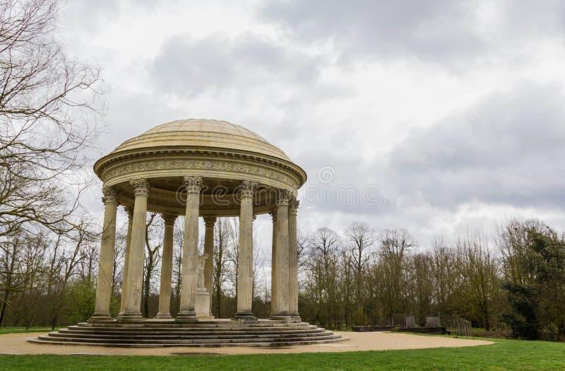 Tempel van Liefde in het Paleis van Versailles stock foto's