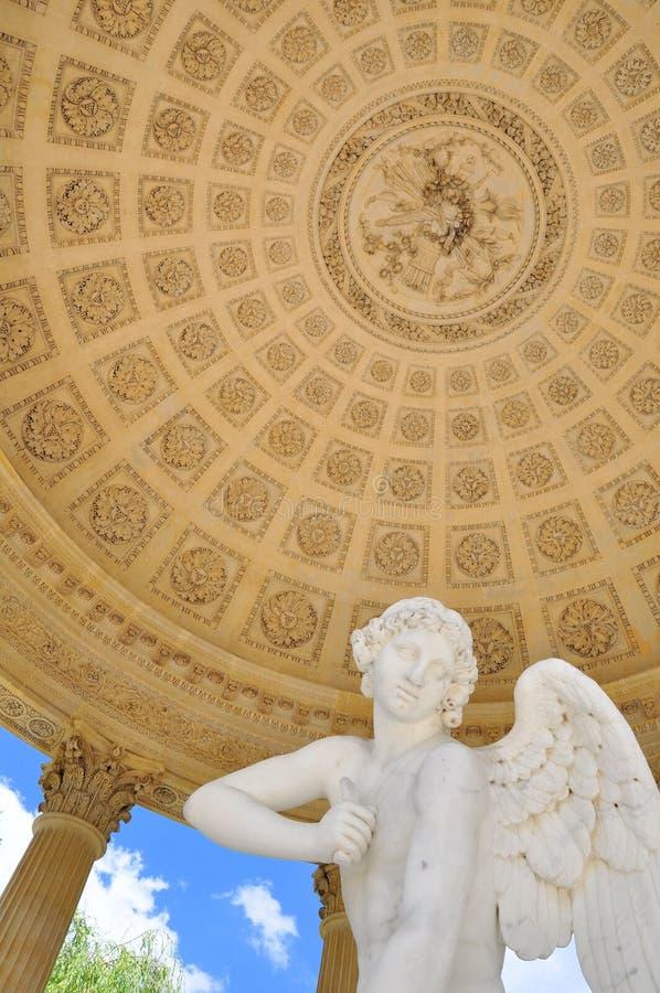 Tempel van Liefde in Versailles, Frankrijk stock afbeeldingen