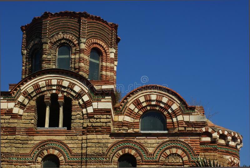 Tempel van Nesebr in Bulgarije royalty-vrije stock afbeelding