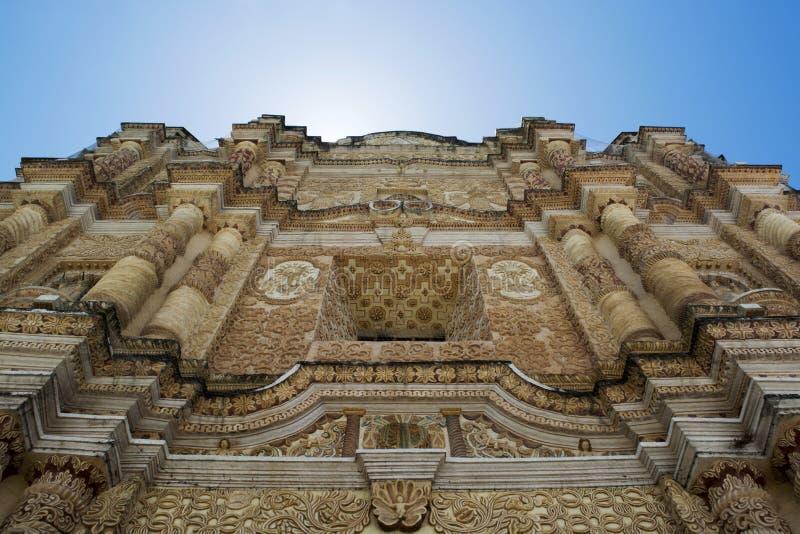 Tempel van St Domingo royalty-vrije stock foto's