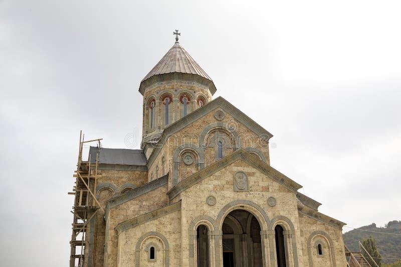 Tempel van St Nino Klooster van Bodbe royalty-vrije stock afbeeldingen