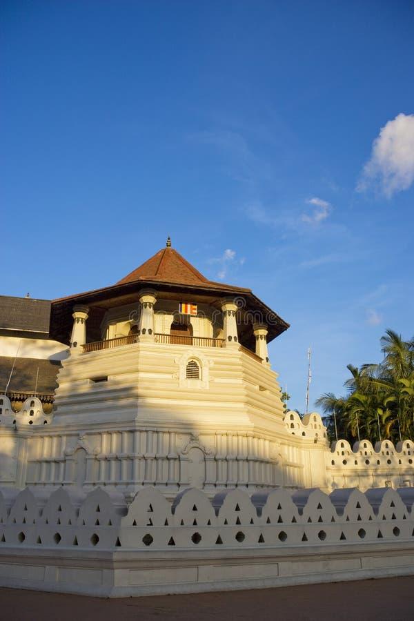 Tempel van Tand, Kandy, Sri Lanka stock foto