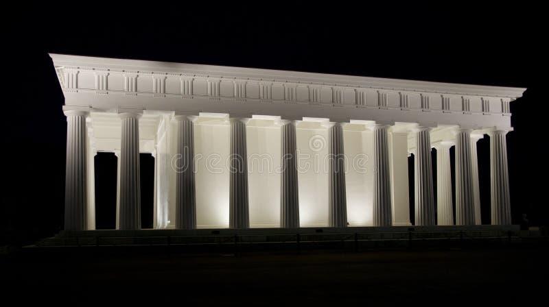 Tempel van Theseus in Volksgarten royalty-vrije stock afbeelding