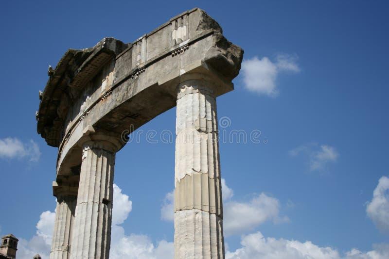 Tempel van Venus stock foto