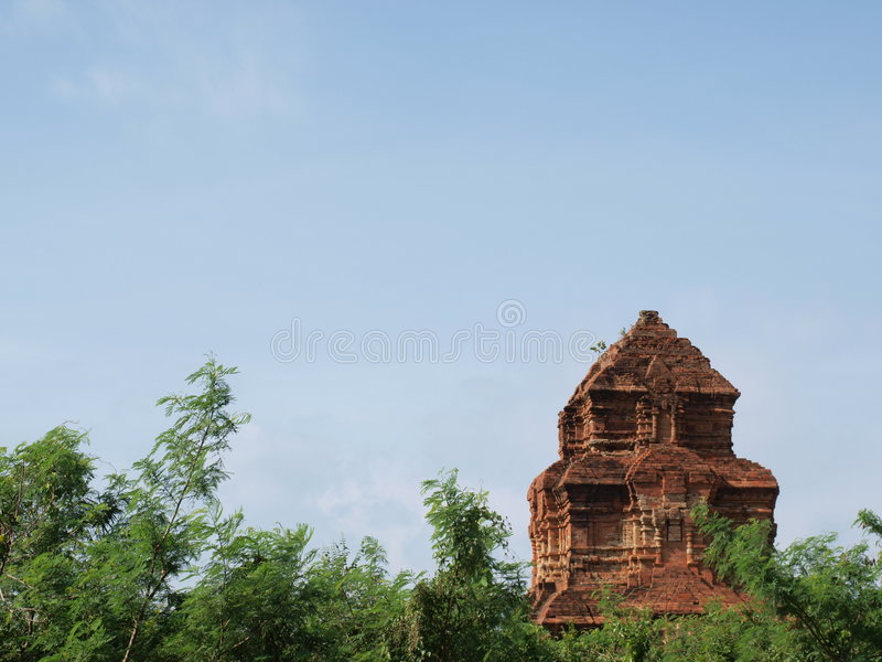 Tempel Vietnam-Champa lizenzfreie stockfotos